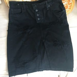 Joes jean pencil skirt